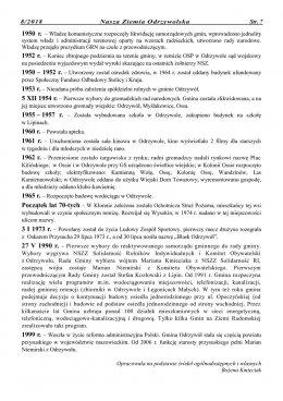Nasza Ziemia Odrzywolska Nr 8 strona 7