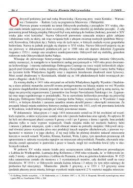 Nasza Ziemia Odrzywolska Nr 1 strona 4