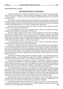 Nasza Ziemia Odrzywolska Nr 5 strona 3