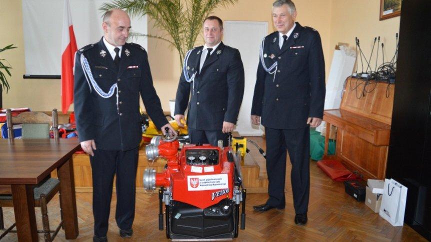 Sprzęt ratowniczo-pożarniczy dla OSP