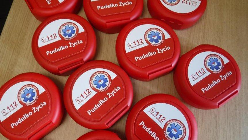 Pudełka życia dla Seniorów z Dziennego Domu Senior+ w Gminie Odrzywół.