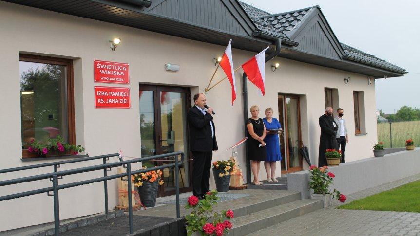 Oficjalne otwarcie świetlicy w Kolonii Ossie