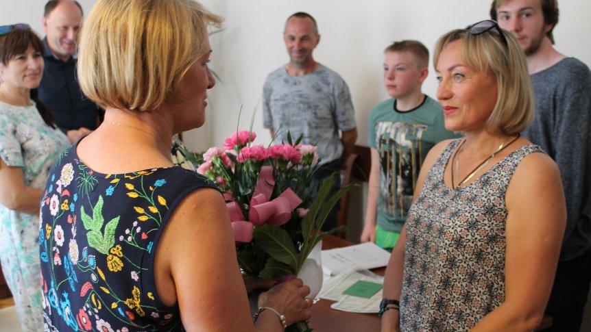 Gmina Odrzywół przyjęła rodzinę repatriantów z Federacji Rosyjskiej.