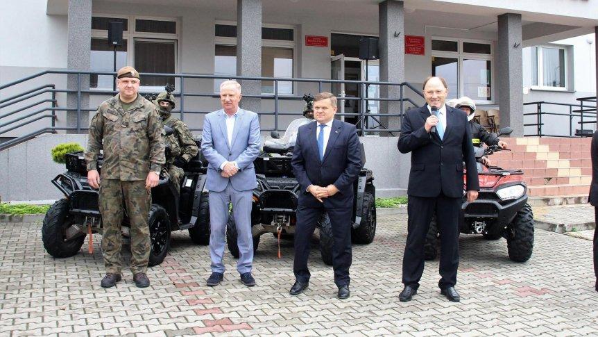 Pożegnanie żołnierzy WOT w Odrzywole z udziałem Wiceministra MON