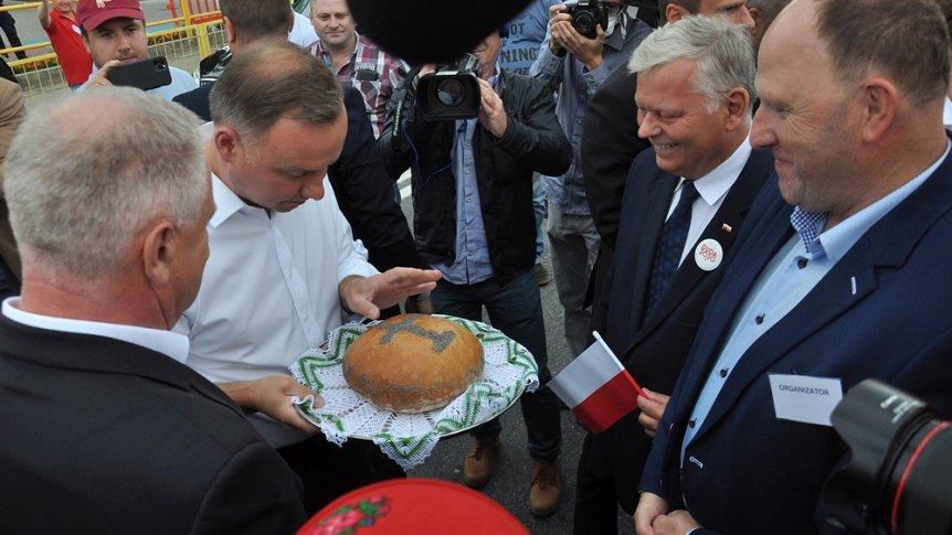 Pierwsza rocznica pobytu Prezydenta RP Andrzeja Dudy w Odrzywole