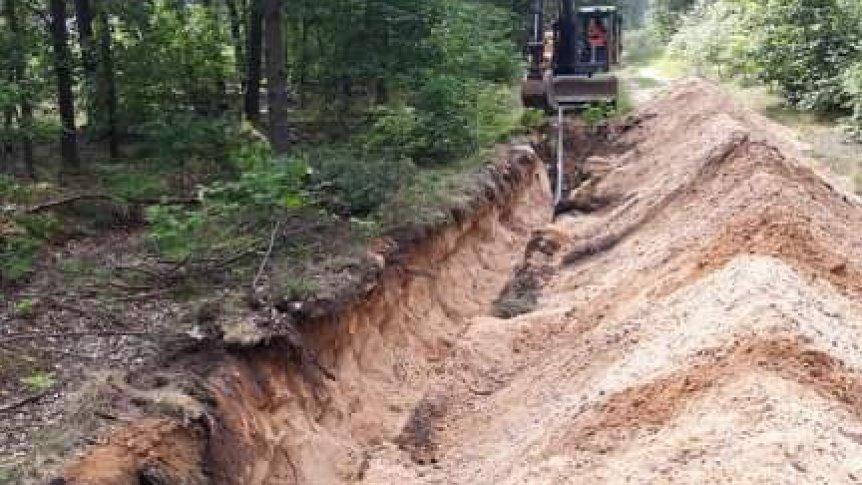 Ruszyła budowa kanalizacji w Kłonnie i rozbudowa wodociągu w Dąbrowie.